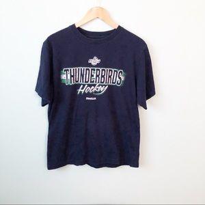 Reebok Seattle Thunderbirds Hockey T-shirt Size M